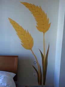 Espigas de trigo, mural