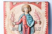 Detalle Apriilis, Calendario Agrícola San Isidoro de León